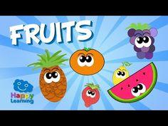 Fruits in Spanish for Children