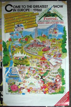 1986 Garden Festival! I remember going to this