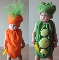Hunter was a pea pod for first Halloween. One month old then <3