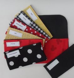 CASH SYSTEM ENVELOPES Cash Envelopes Clutch and by CitrusDesigns, $43.99