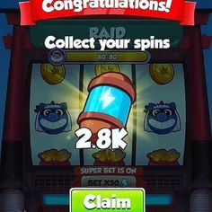Coin master free spins coin links for coin master we are share daily free spins coin links. coin master free spins rewards working without verification Daily Rewards, Free Rewards, Free Casino Slot Games, Free Games, Coin Master Hack, Free Gift Cards, Online Casino, Revenge, Spinning