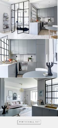 5 Ideas to Steal from This Tiny Stockholm Kitchen — Color in the Kitchen | The…