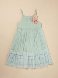 pippa & julie tulle tiered dress...beautiful pastel shades