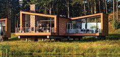 Woodlands, Brockport, NY United States by Henning Larsen Architects Henning Larsen, Usa Country, Farm Cottage, Scandinavian Modern, Home Fashion, Sweden, Tiny House, House Ideas, Cabin