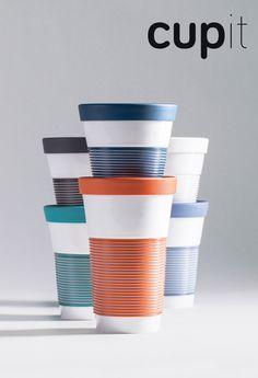Cupit neue To Go Becher Kollektion von KAHLA Porzellan, Design Lisa Keller