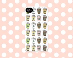 Starbucks Frappuccino Drinks iPhone4/4s/5/5s/5C Case