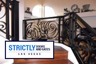 STAINLESS STEEL RAILINGS #StrictlyDoorsandGates #LASVEGAS
