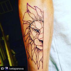 Fresh WTFDotworkTattoo Find Fresh from the Web #Repost @ivetapanova with @repostapp.  #mastilnica#lion#tattoo#linework#dotwork#ink#blacktattoo#geometri#animal#forearmtattoo#nature#art#tattoolover#workaholic procare.bg WTFDotWorkTattoo