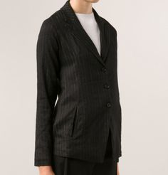 Pinstripe Blazer #blazer #pinstripe #transit