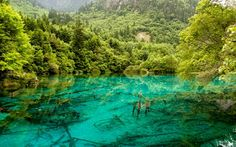 Five-Flower Lake, Jiuzhaigou National Park, China | In tumultuous times, sometimes you just need to get away from it all and stare into a tranquil blue sea.