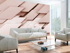 Think Pink modern wallpaper- Carta da parati moderna Think Pink Think Pink wallpaper -