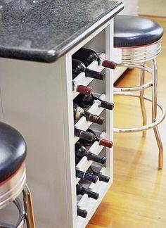 Undercounter Wine Storage