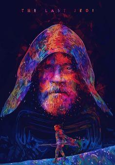 The Last Jedi - Created by Alessandro Pautasso