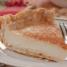 Amish Bakery Custard Pie