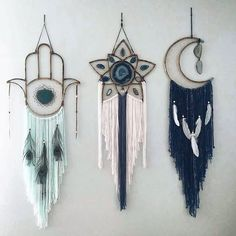 "7,592 Likes, 172 Comments - The Hippie Homes ⛺ (@thehippiehomes) on Instagram: ""#dreamcatcher hangings   These are made by @vintagerubia. Check them out! """
