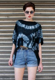 How to make tie-dye look chic :-P #creditmissing