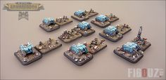 Death Korps Of Krieg Grenadiers Squad with Centaurs light transport