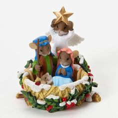 Charming Tails Holiday Christmas Figurines