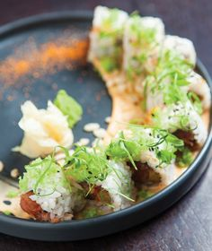 There's nothing like Society's restaurant and lounge in Fort Myers for a night of good eating and lots of fun. Sushi Rolls, Fort Myers, Fresh Rolls, Tuna, Avocado Toast, Spicy, Traveling, Pop, Dining