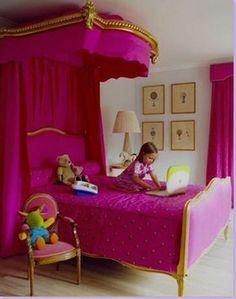 How To Live Like an Omani Princess: Little Girl's Bedroom Design Inspiration