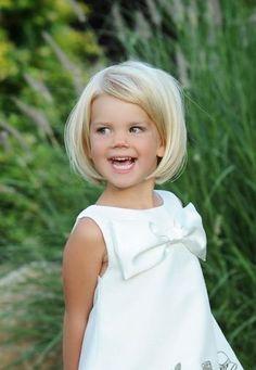 Coiffure petite fille carré - 40 coiffures de petite fille qui changent des couettes  - Elle