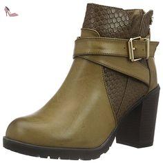 XTI 46213, Bottes Classiques femme - Beige - Taupe, 39 - Chaussures xti (