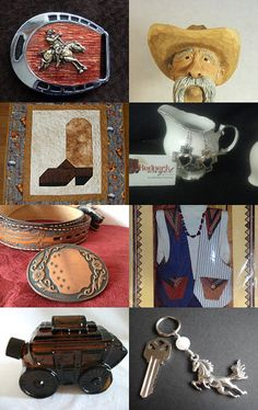 Western Treasures for Cowboys and Girls by Shelly Decker on Etsy--Pinned with TreasuryPin.com