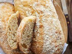 Ricetta Pane fatto in casa: Impasto pane base (veloce e semplice) Focaccia Pizza, Bread Recipes, Cooking Recipes, Bread Rolls, Biscotti, Food Art, Side Dishes, Recipies, Food And Drink