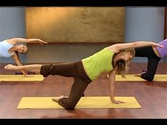 Denise Austin: Pilates Buns & Thighs Workout - YouTube
