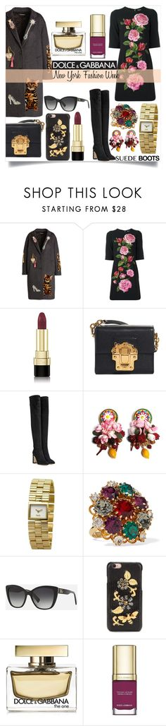 """Dolce&Gabbana #131"" by kro-1 ❤ liked on Polyvore featuring Dolce&Gabbana, NYFW and dolceandgabbana"