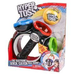 Hyper Toss Action Game Interactive Electronic Catch Kids Play New Christmas Fun #MooseEnterprises
