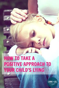 I really like the idea of taking a positive approach when I catch my kids lying instead of being angry and punishment. It seems the more positive approach to a child lying will reinforce the parent-child bond and relationship much more than the alternative.