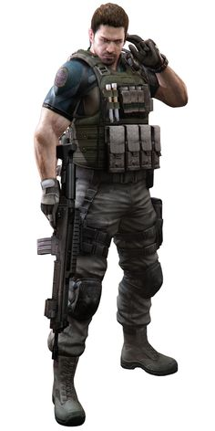 chris redfield re6 - Buscar con Google