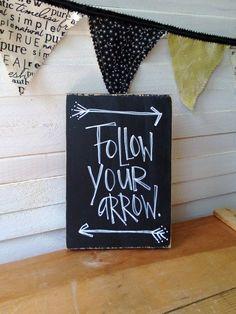 """Pi Beta Phi """"follow your arrow"""" craft! #piphi #pibetaphi"""