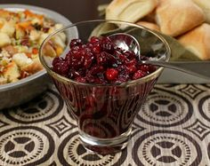 I make this every year. Cosmopolitan Cranberry Sauce Other Recipes, New Recipes, Cooking Recipes, Favorite Recipes, Best Cranberry Sauce, Cranberry Relish, Thanksgiving Recipes, Gourmet, Drink