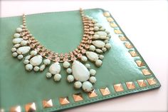 loving mint accessories.