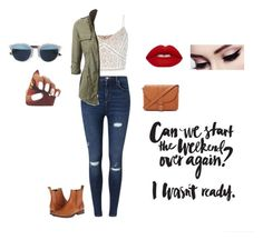A fashion look from March 2016 featuring lace crop tops, utility jackets and ripped jeans. Browse and shop related looks. Winter Looks, Lime Crime, Miss Selfridge, Christian Dior, Forever 21, Shoe Bag, Polyvore, Stuff To Buy, Shopping