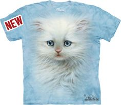 Fluffy White Kitten « Epic Shirts  Do I need say anything? This shirt needs no commentary! Just buy it