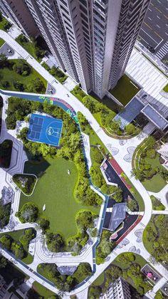 Residential Landscape #LandscapeLayout #LandscapeMasterplan