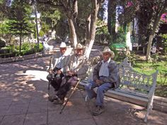 Jerez is a very laid back town that is about as Mexican as it gets. Ancianos while the day away sitting on park benches to watch the town's ...