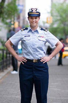 Meet Lieutenant Amanda Harris, a helicopter pilot in the United States Coast Guard.
