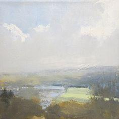 landscape art artnet Galleries: Long Meadow No. 2 by Eric Aho from Elizabeth Clement Fine Art