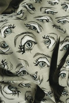 Garbo's Eye Scarf by Cecil Beaton  #Garbo #Scarf #Cecil_Beaton