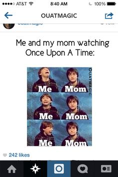 I think it's more internal than external fangirling, but yes. (My mom gets the same way about The Walking Dead.)