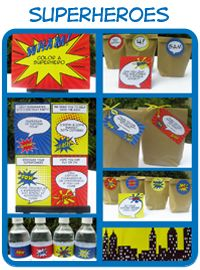 Superheroes Printable Collection