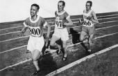 Ville Ritola bilder | Finnish athletes Ville Ritola and Paavo Nurmi and Edvin Wide of Sweden ...OS guld för V. Ritola 1924 10.000 meter och 3.000 meter hinder. Guld 1928 5.000 meter. 1924 i Paris, 1928 i Amsterdam.