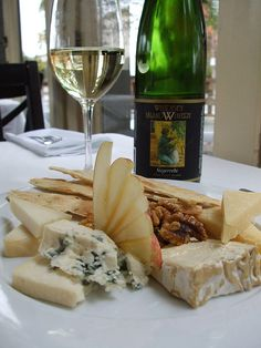 Cheese & Wine #wine #cheese