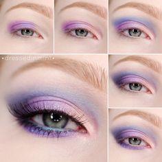 Pastel Eyeshadow  - bellashoot.com & bellashoot iPhone & iPad app