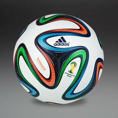 MOST WANTED adidas Brazuca Official Match Ball - White/Blue