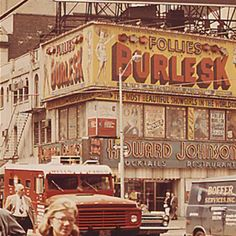 1960s Times Square Vintage Billboards HOJO Howard Johnsons Burlesk Follies flickr.com